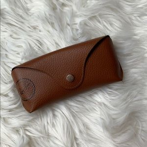 Ray Ban leather sunglass case